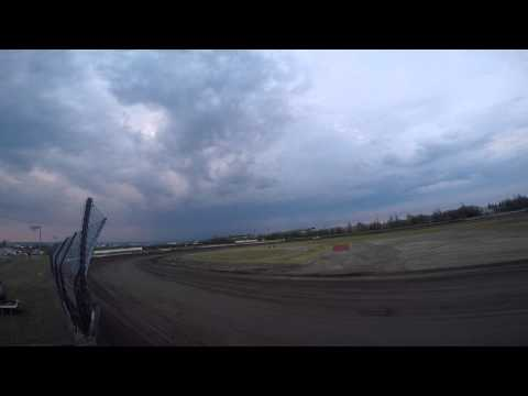 Mini Stock Feature - Mitchell Raceway - 6/20/2015