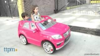 Детский электромобиль джип ML 63 ERS-3 Mercedes-Benz AMG Lux - дисней.com.ua