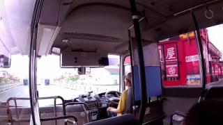 音源はフリーを使用しています 自家用路線バスの マイクロバスリエッセ...