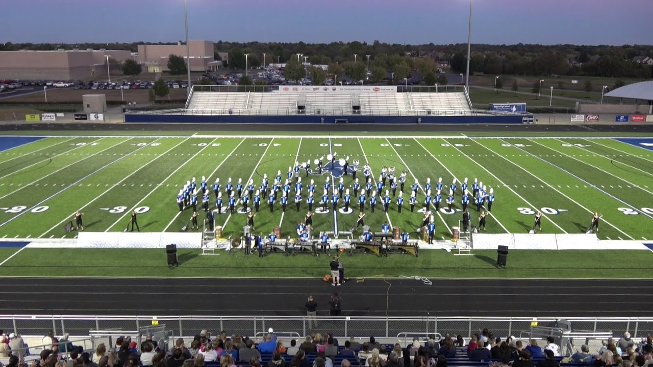 Mountain Home High School Band Marches At Region Vi Assessment