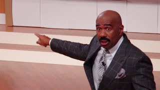 Ask Steve: Didn't you hear me say my WIFE is here? || STEVE HARVEY