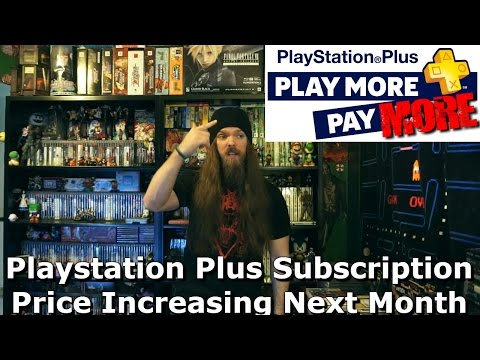 Playstation Plus Subscription Price Increasing Next Month - AlphaOmegaSin
