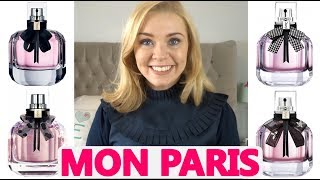 YSL MON PARIS PERFUME RANGE | …