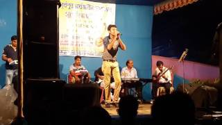 RAAT NAME DU CHOKHE | LIVE Stage by Souradipta Ghosh .