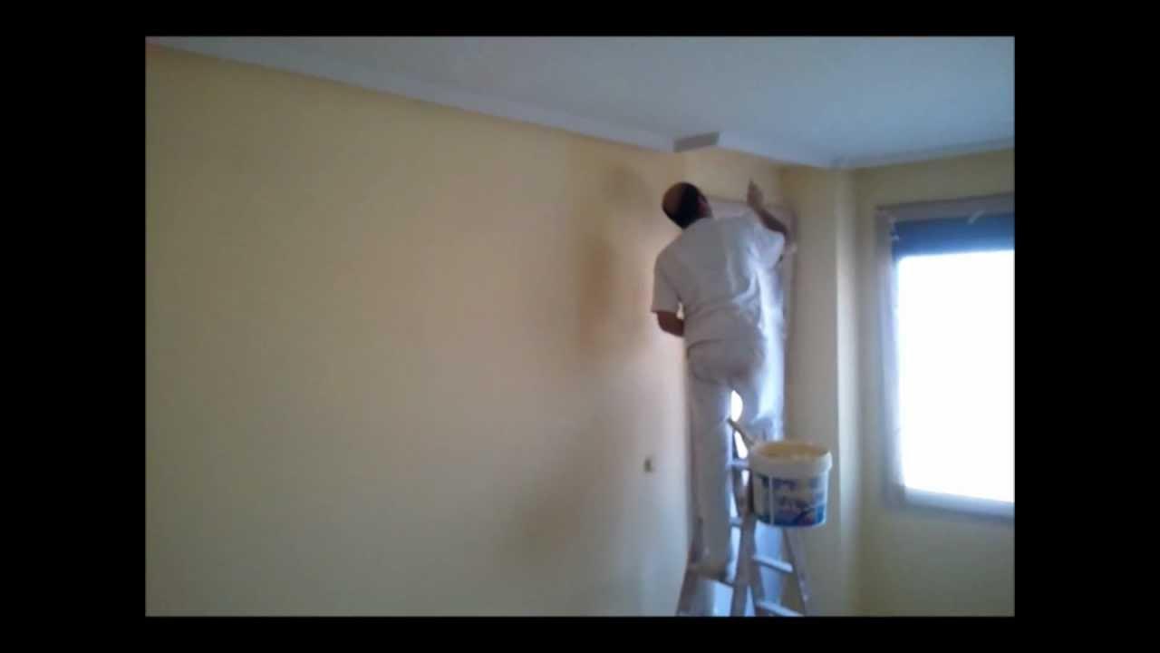 Pintar techos y paredes con maquina airless youtube - Maquina para pintar paredes ...