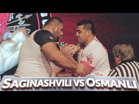Levan Saginashvili vs Ferid Osmanli \u0026 Ivan Matyushenko