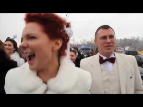 Видео: Нереально классный флешмоб 26 02 12 на Воробьевых горах HD