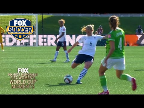 48th Most Memorable Women's World Cup Moment: Les Bleues Henry   FOX SOCCER