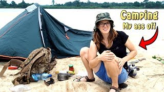 Camping in Hippo territory dangerous?
