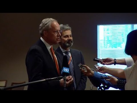 Netherlands on the situation in Syria - Media Stakeout (23 Feb 2018)