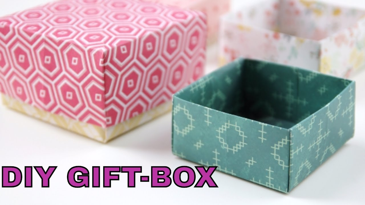 Diy gift box paper crafts tutorial gift box super easy kids diy gift box paper crafts tutorial gift box super easy kids crafts handmade gift ideas paper cut jeuxipadfo Choice Image