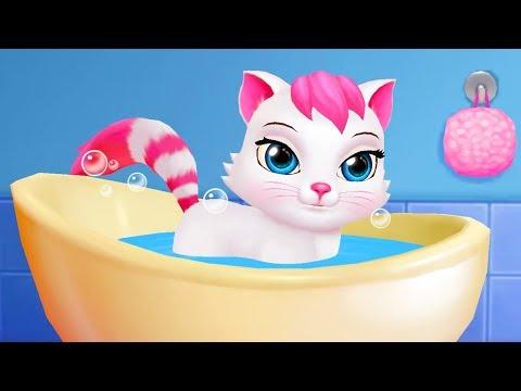 Мультфильм милый котик