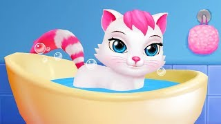 МИЛЫЙ КОТИК #1 мультик игра про милого котенка. Видео для детей #ПУРУМЧАТА