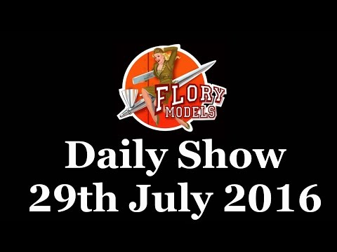 Flory Models Daily Show 28th July 2016
