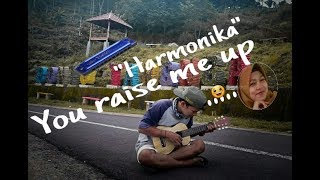You raise me up - westlife ( cover harmonika by Iskandar )