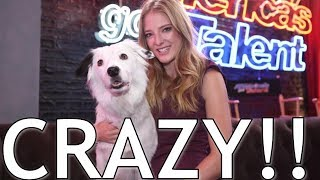 Crazy AGT Experience with Sara and Hero!