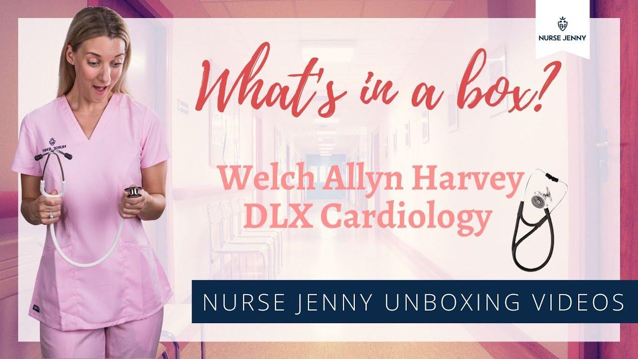 Welch Allyn Harvey DLX Cardiology Stethoscope Unboxing #cardiology