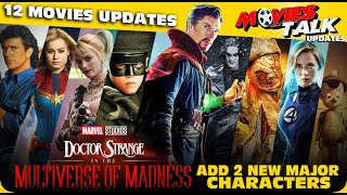 DOCTOR STRANGE 2 : Film More 3 Comic Characters & More 12 Movies Updates [Explained In Hindi]