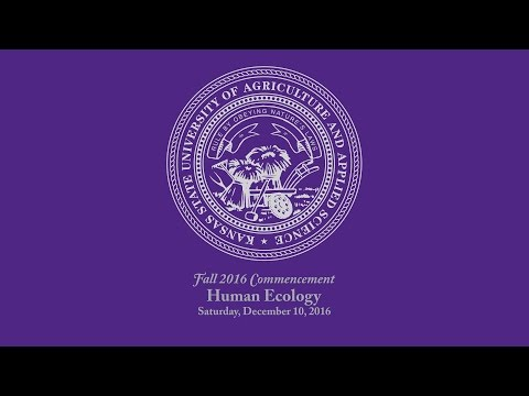 K-State Commencement - Fall 2016   Human Ecology