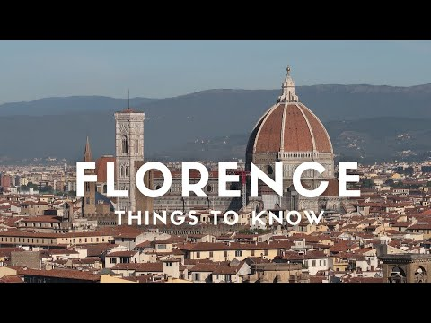 FLORENCE: THINGS YOU MUST KNOW / Florence Italy Travel Vlog