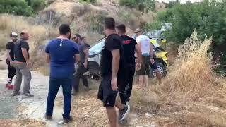 Ατύχημα Σίμου Γαλαταριώτη στο Tiger Rally 2019