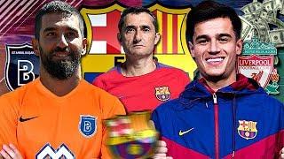 LE MERCATO HIVERNAL DU FC BARCELONE 2017/2018 ! 🔵🔴