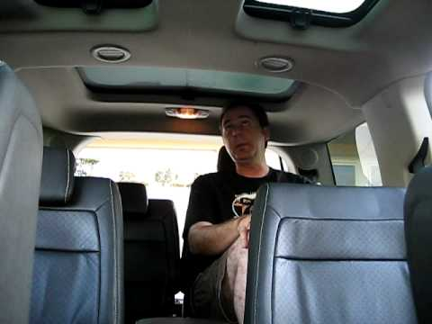 2009 Ford Flex 3rd Row Seat Space Test Will Dan Fit