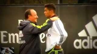 Bronca entre Rafa Benítez y Cristiano Ronaldo | Real Madrid | Pretemporada 2015