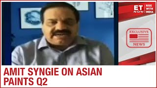 Asian Paints Q2: How has Asian Paints beaten margins? | CEO Amit Syngie to ET Now