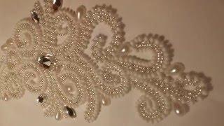 Свадебная вышивка от Виктории Бойко