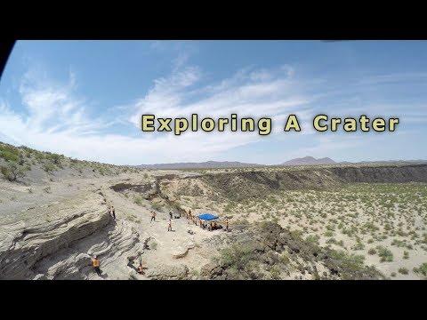 Exploring A Crater