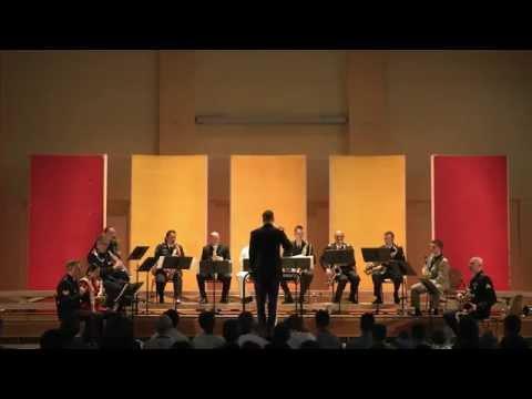 NATO Saxophone Orchestra Full Concert