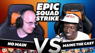THE KING'S GUARD vs THE SALEM SQUAD: EPIC Squad Strike in Smash Ultimate