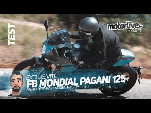FB MONDIAL PAGANI 125 I TEST MOTORLIVE