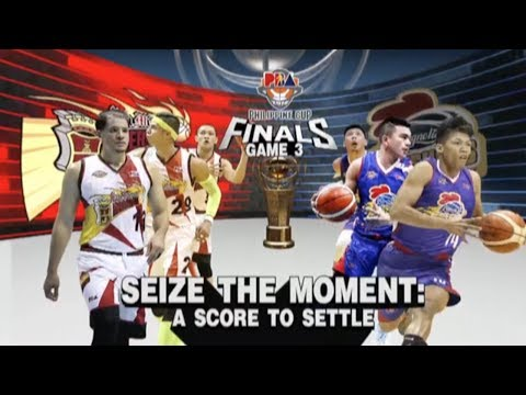 PBA Philippine Cup 2018 Finals Game 3: San Miguel vs. Magnolia Apr. 1, 2018