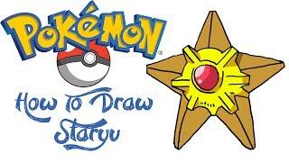 How To Draw Staryu (POKEMON)