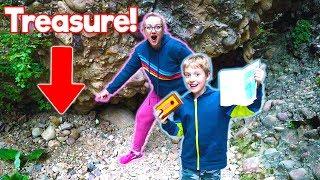 Burying Treasure And Solving Clues Up Box Canyon!