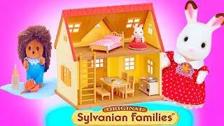 видео Игровые наборы Sylvanian Families: домики, мебель, жители