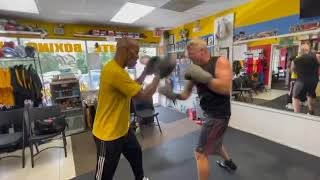 Kick ass boxing gym. In Oviedo Florida