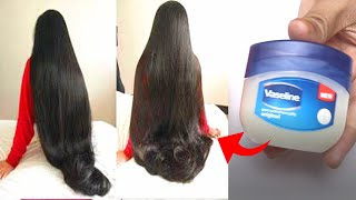 How To Grow Shine and Silky Hair Faster With Vaseline  Super Fast Hair Growth Challenge