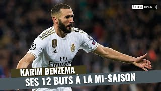 VIDEO: Real Madrid : Les 12 buts de Karim Benzema à la mi-saison