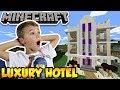 BUILDING LUXURY HOTEL In MINECRAFT SURVIVAL MODE mp3