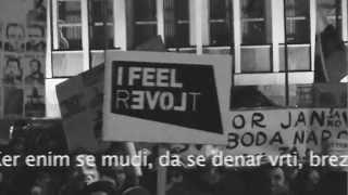 """Leon Matek: """"Zakaj bi protestiral?"""" Protestival Ljubljana 11.1.2013"""