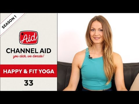 Yoga Kraft Balance feat. Happy and Fit Yoga | Channel Aid | S1 Ep33