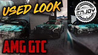 Enjoy Fahrzeugfolierung | AMG GTC mit Kampfspuren!