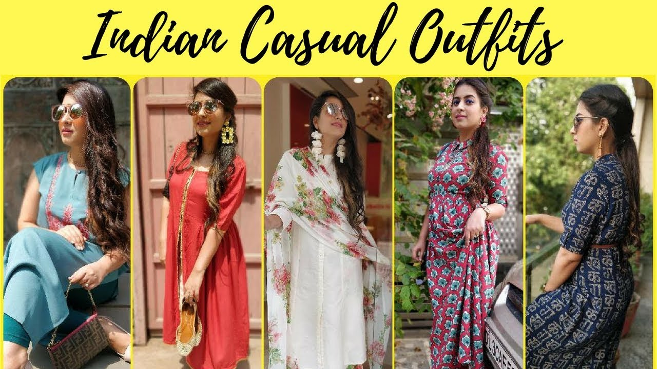 Casual Indian Outfits | Lookbook 2018 | Summer Outfits | Roma Dua