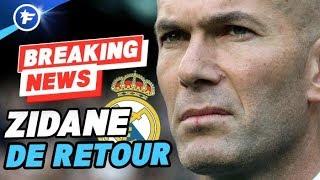 OFFICIEL : Zinedine Zidane revient au Real Madrid