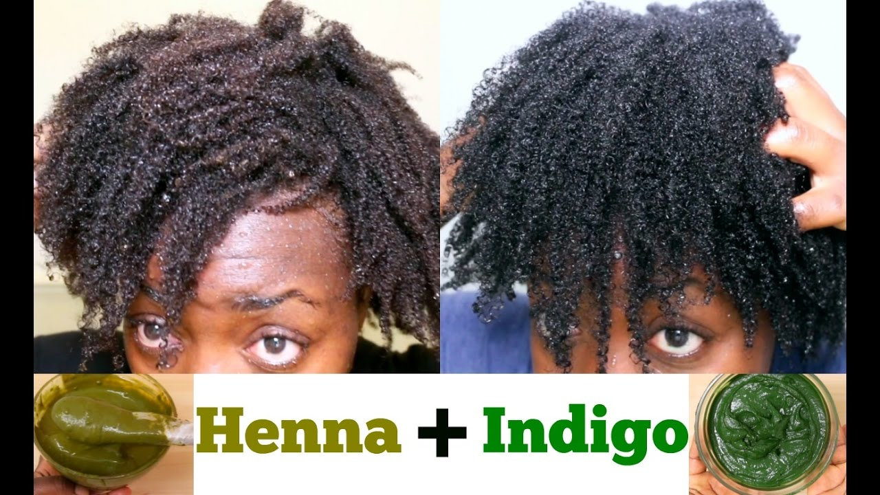 natural hair dye diy henna & indigo