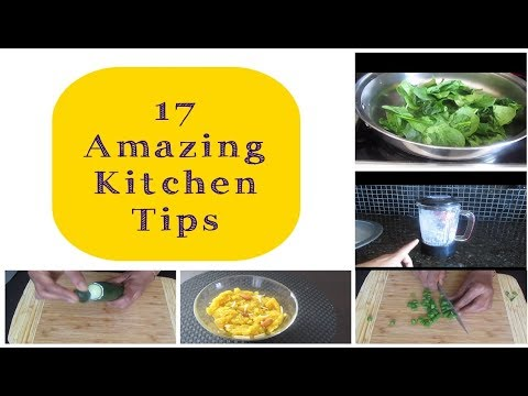 17 Amazing Kitchen Tips and Tricks   Indian Kitchen Tips   The Kitchen Club