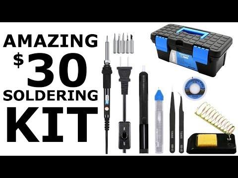Amazing $30 Soldering Kit - Best Deal For Beginners